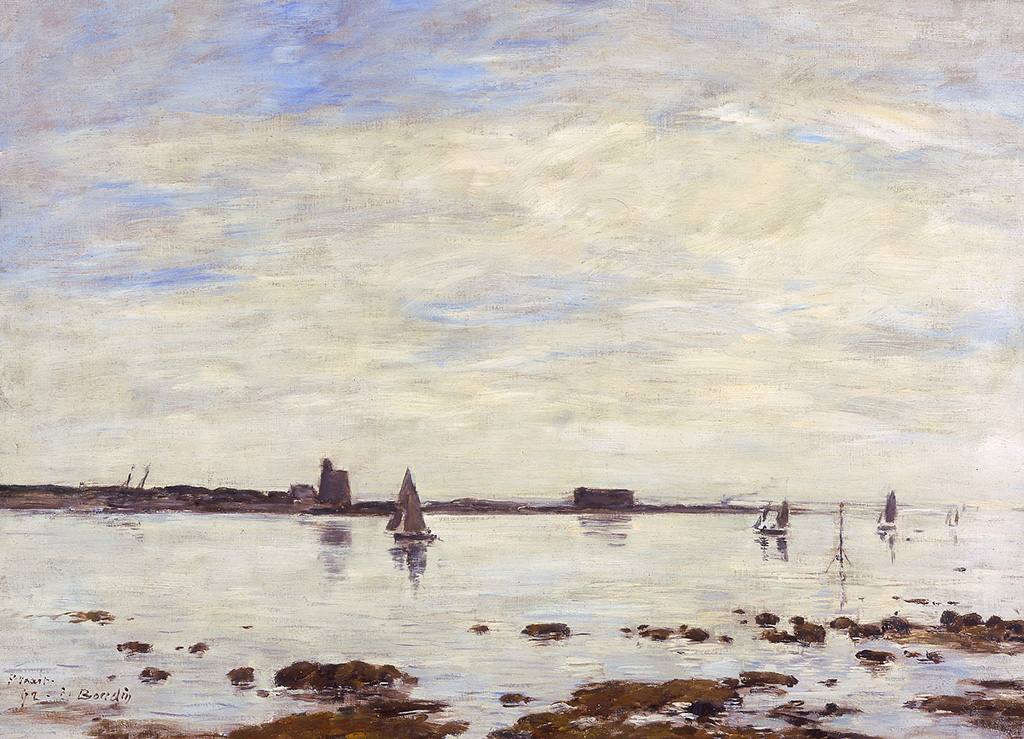 Saint-Vaast La Hougue, le port, 1892
