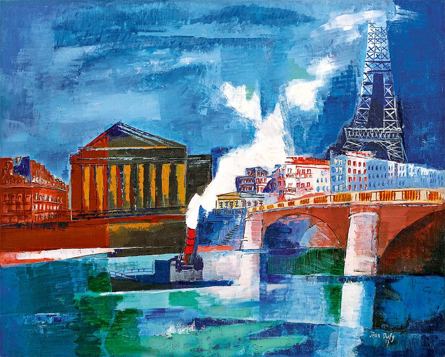 Jean Dufy - La Tour Eiffel, 1927