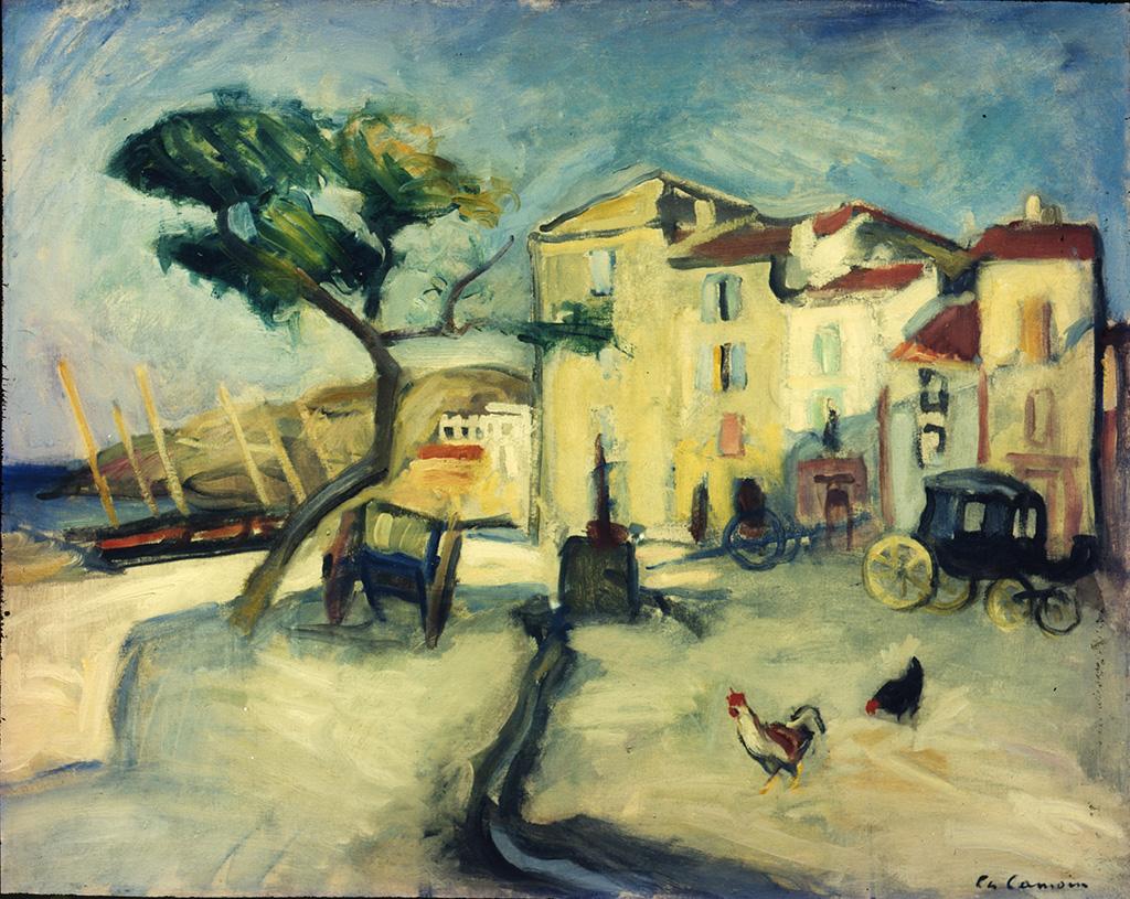 Port de Cassis, vers 1905-1906