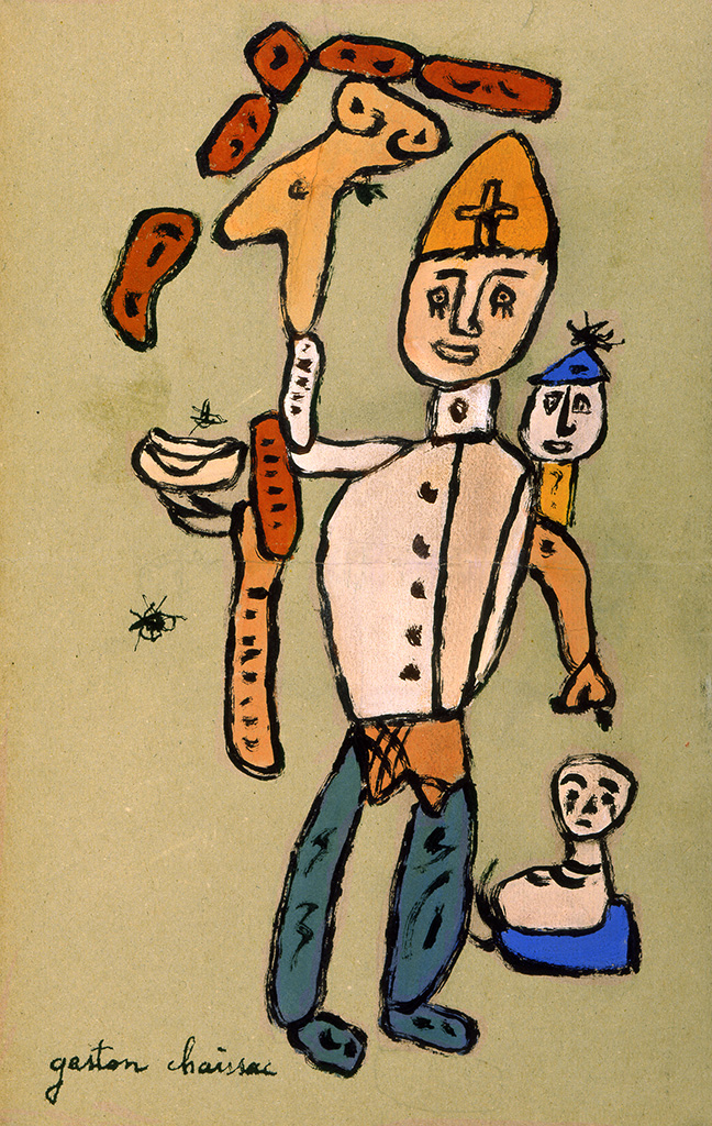 Personnages, vers 1953