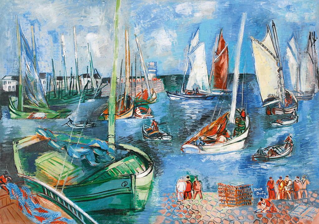 Le Port de l'île d'Yeu, 1928