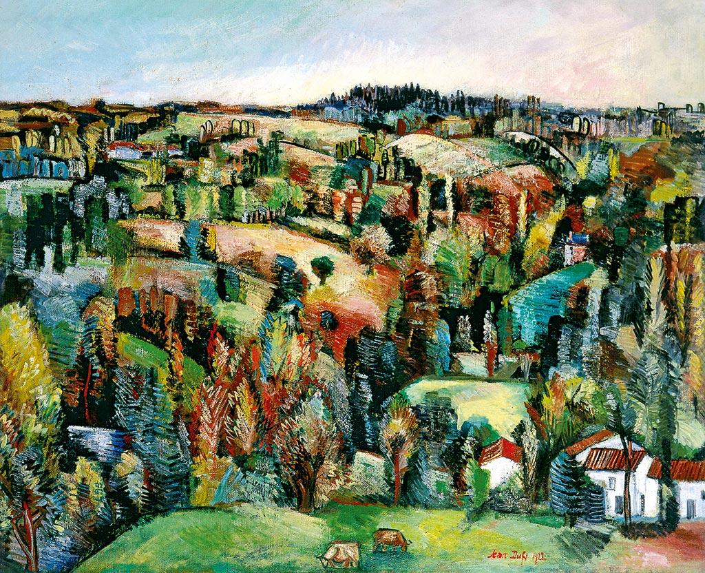 Paysage du Limousin, 1922