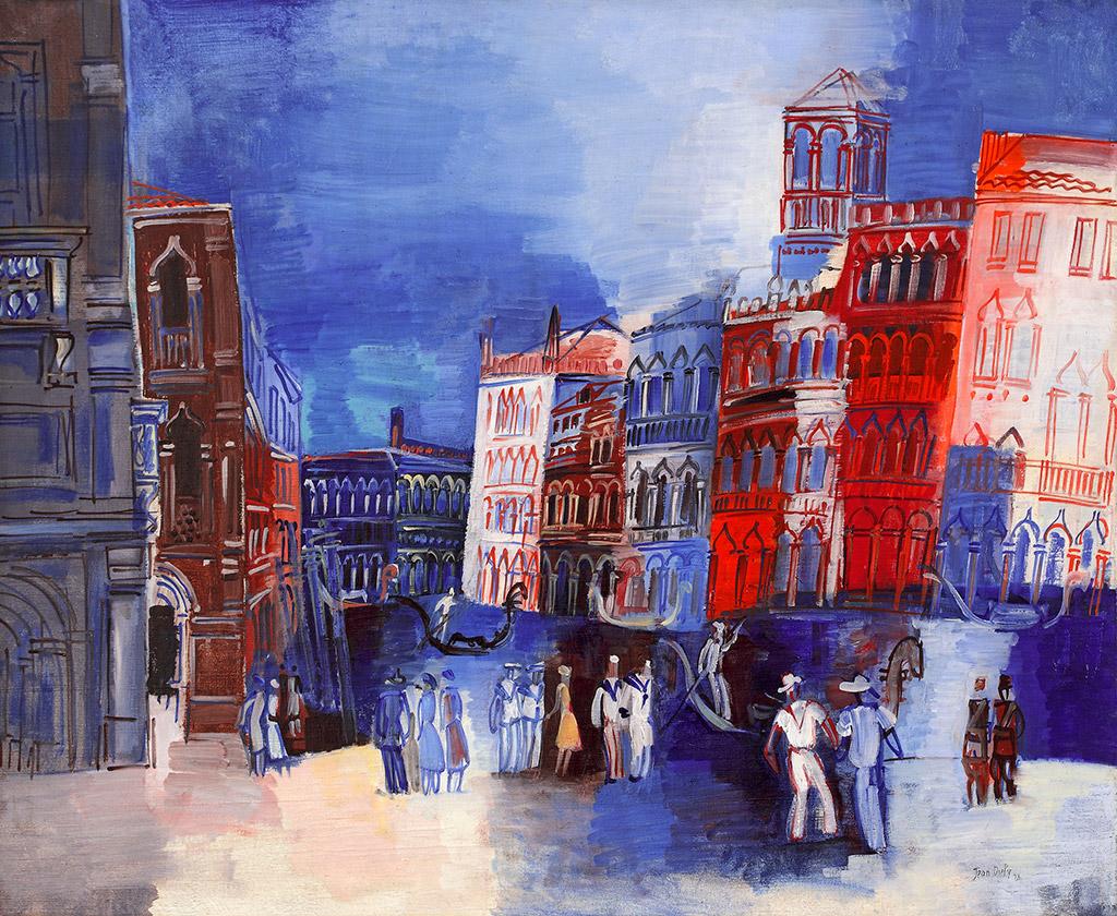 Venise, le Grand Canal, 1926