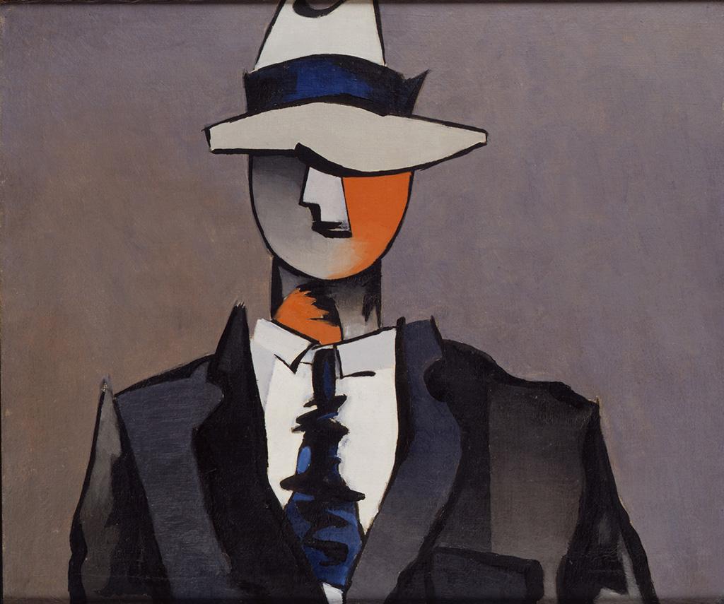 L'homme à la cravate tordue, 1943