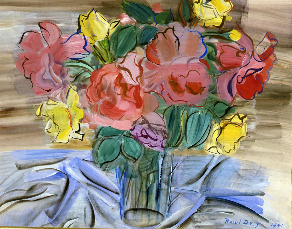 Bouquet de roses, 1941