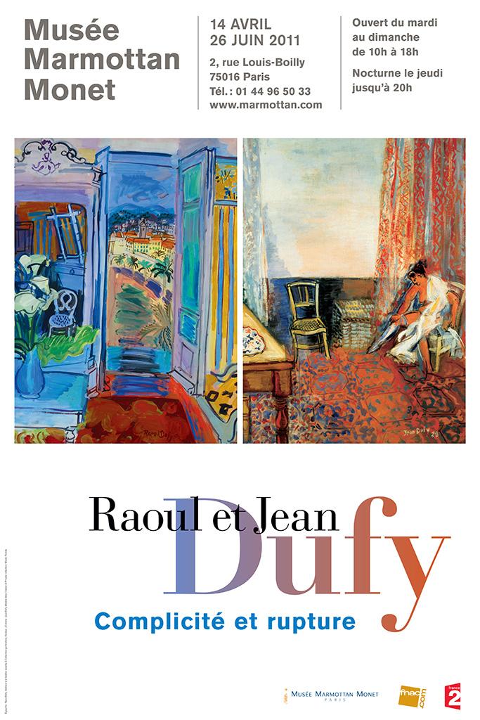 affiche-musee-marmottan-2011-raoul-et-jean-dufy