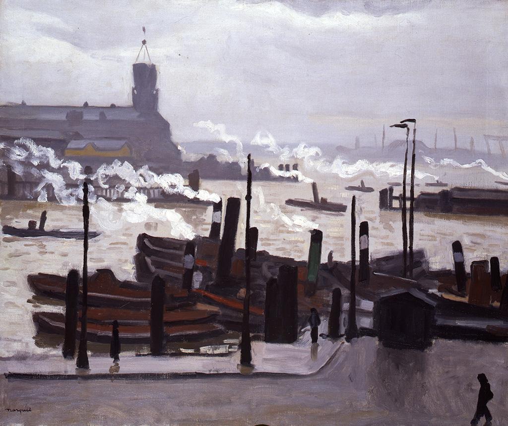 Port de Hambourg, 1910