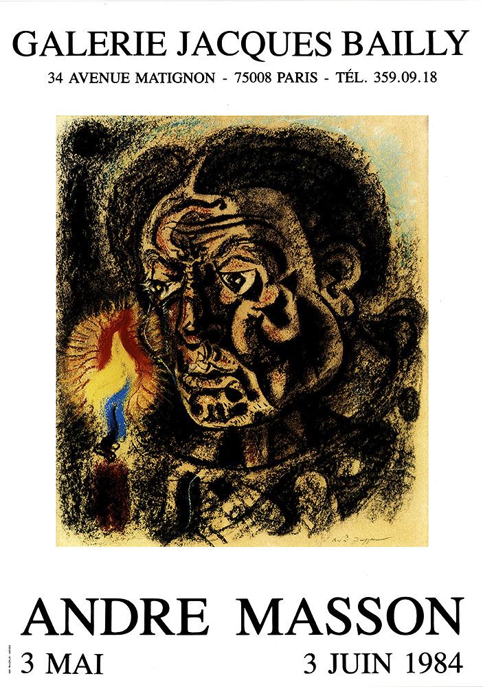 Affiche André Masson 1984