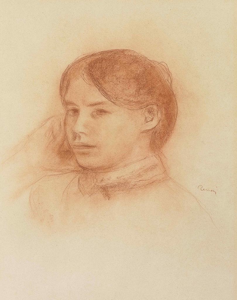 Mademoiselle Paule Gobillard, circa 1885
