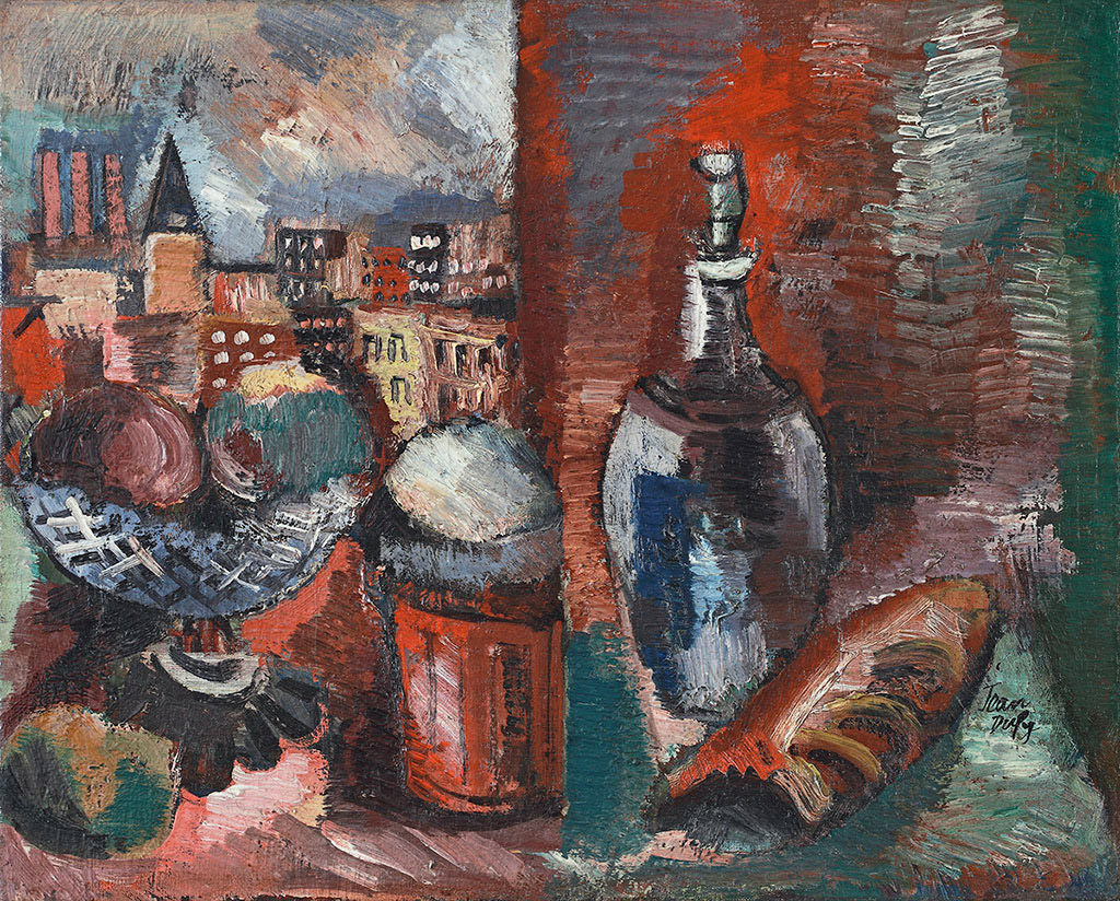Nature morte à la carafe, vers 1923-25