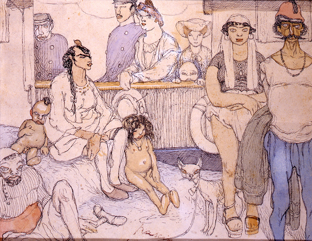 Les immigrés, 1903