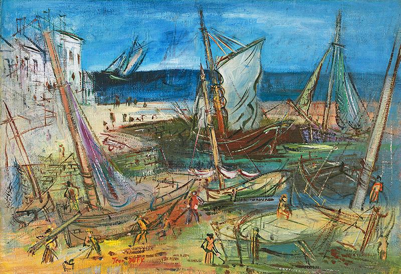 Port de pêche, vers 1935