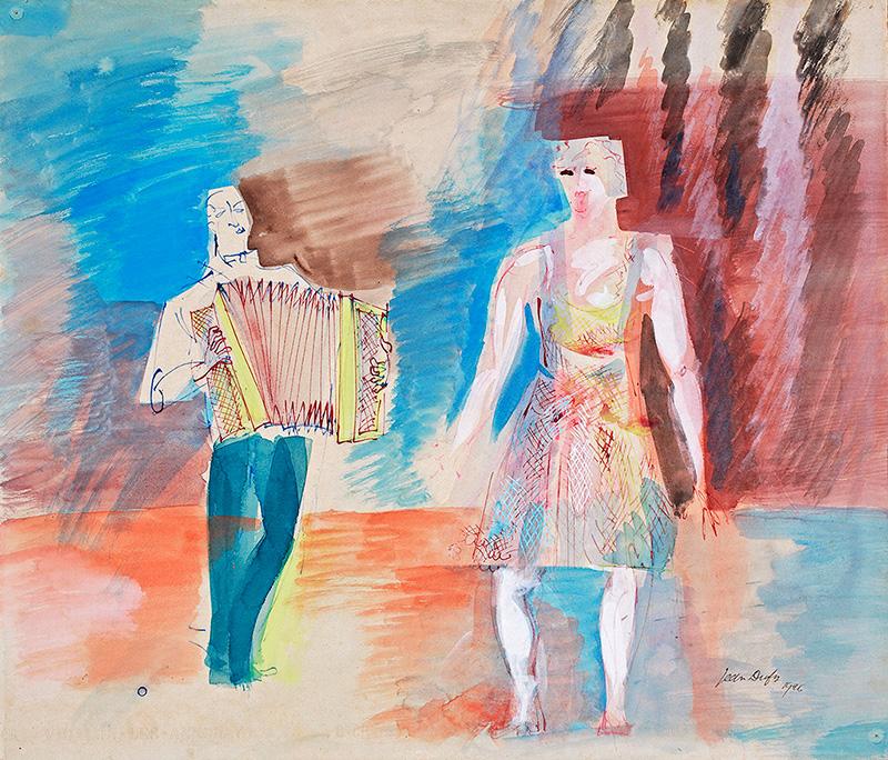L'accordéoniste, 1926