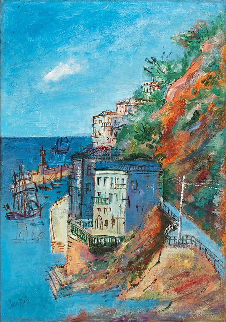 La Côte d'Azur près de Villefranche-sur-Mer, vers 1925-26