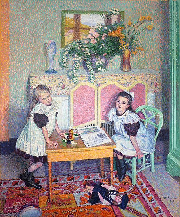 Scène d'intérieur, 1908