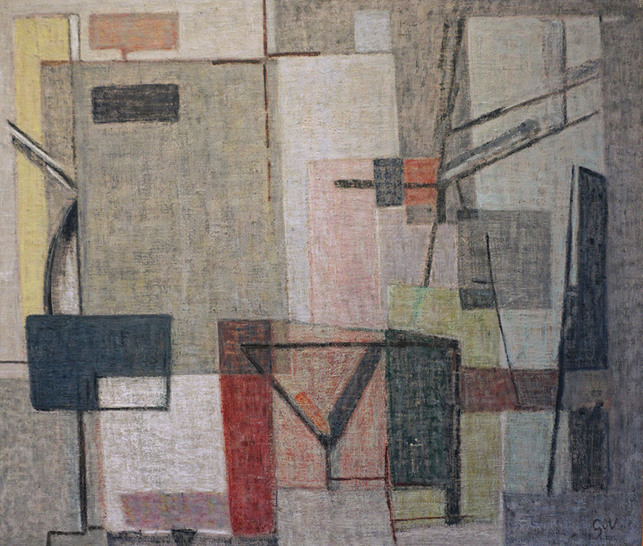 Composition, vers 1954