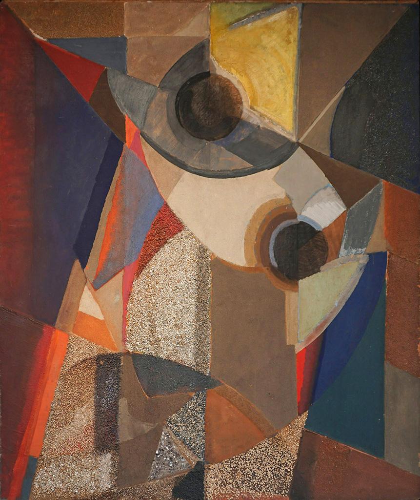 Rythme géométrique N°2, 1957