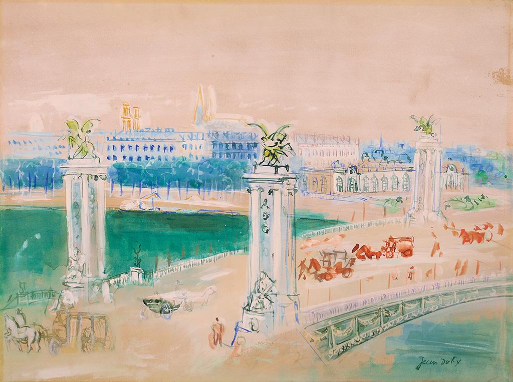 Pont Alexandre III, vers 1947-48