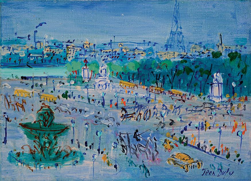 Place de la Concorde, circa 1950-55