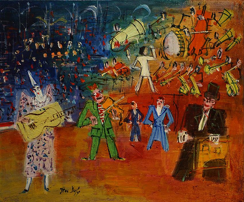 Le trouble-fête, vers 1948-50