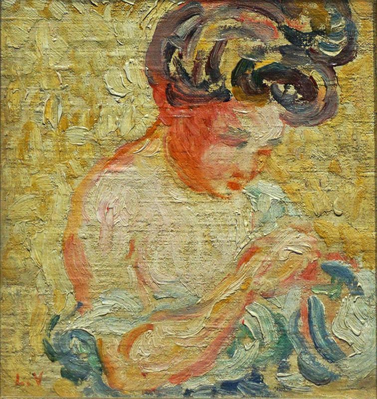 La couturière, 1902