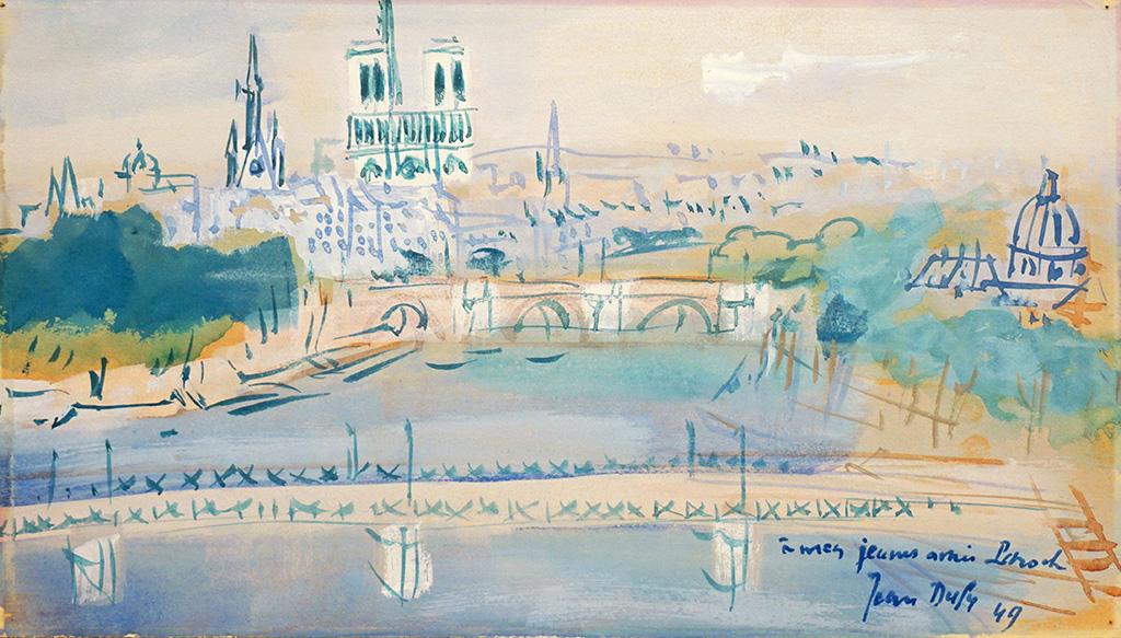 La passerelle des Arts, 1949