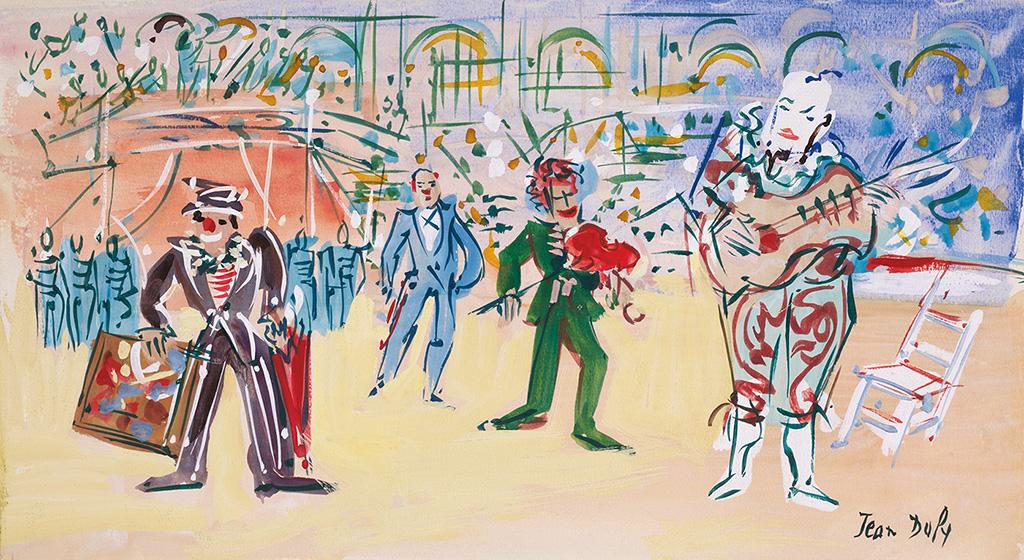 Le trouble-fête, vers 1955